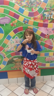 First ice cream in the ice cream palace!
