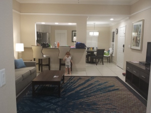 Inside our Villa at GKTW