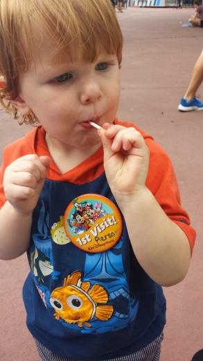 Pierson's First Disney Visit