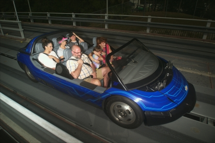 Mercy's First Ride: Test Track