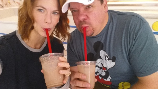 Dairy free ice cream shakes for breakfast at GKTW Village!