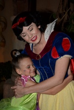 Snow White talked, walked, and acted exactly the way she does in her movie!