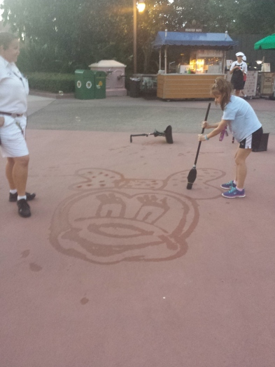 Mercy as honorary Disney Custodian