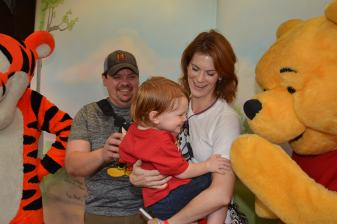 Pooh Bear Tickles PJ