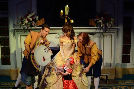 M as Mrs. Potts in Belle's Castle