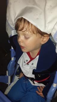 PJ Sleeps through Fireworks