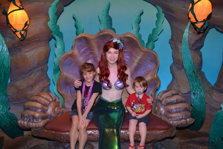 The Kids with Ariel in her Grotto.jpeg