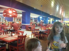 Inside the GKTW Village cafeteria